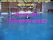 Anna Steht på Sex im Schwimmbad