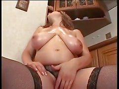De Lena la muchacha caliente embarazada que se masturba