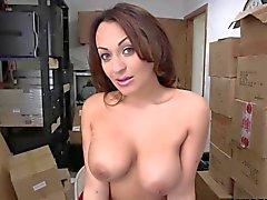 Grande tits casting ottiene dita