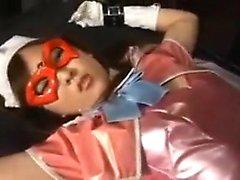 Привлекательная японская суперженщина лечится, как шлюха, м