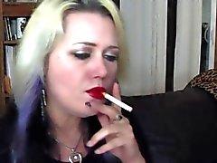 Lippenstift en Roken