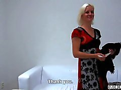 Tsjechische casting - Katerina