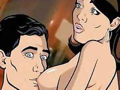 Archer vídeo de sexo