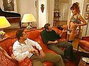Jennifer Loca - İtalyan Orospu 2 adam tarafından becerdin