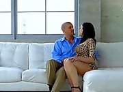Stepmom Blows Stepdaughters Well Hung Suitor