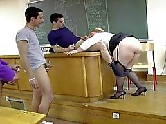 Anna Maria Fat BBW French Professore
