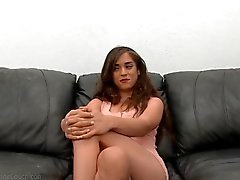Cute petite Hazel hot casting shoot
