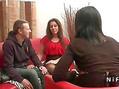Französisch arabe Mama gebumst schwer für sie Casting Couch