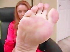 Janet Mason Beautiful ayakları