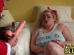Saskia bekommt für sein freches Mädchen durch eine schlechte Sankt bestraft