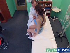 FakeHospital Doctor performs sexual acrobatics with Russian