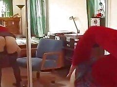 Old Man befinner a Blonde och henne till bäddsrum att knulla skit o