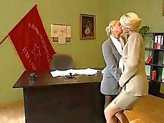 Sarışın Ofis Lezbiyenler
