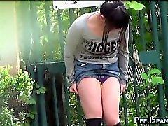 Fetiş Japon urinate