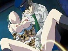 Anime flickan blev knullas av taxichauffören