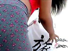 Bueno El Parecer Adolecente Morena en Webcam