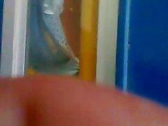 SDRUWS2 - Panty Tanga an der Bushaltestelle
