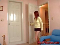 D'Aki Yatoh Belle infirmière asiatique promenades part5