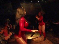 Brasilianischen Dick Tanzen Beautys Umfang Prt zwei