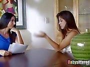 Baby-sitter utilisée pour le sexe