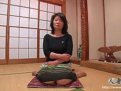 C menaçant menaçant Aged Keiko Hiroyama menaçant 44yo
