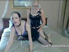 TGirl fuck Girl
