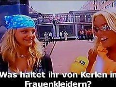 Lateksi Bayan hizmetçi Luder - Scheiss Transvestiten Schwein öldü ... hurra !