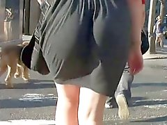 Искренний Pawg Ass Clapping на платья