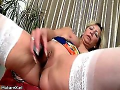 Horny mature whore goes crazy part2