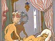 Erotisk konst av George Barbier 4 - Les Liaisons Dangereuses