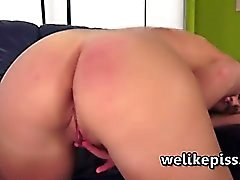 El cielo de Denise Squirting del masturbation