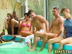 Débauche interraciaux Bisex