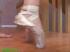 Flexible Blonde Girl