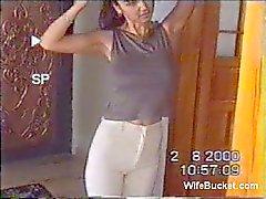 Turkse vrouw zelfgemaakte sex tape