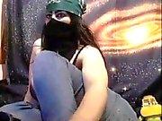 Dirty Skökan Ur Morocco show Ass tuttar på webbkamera