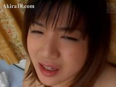 Innocent amateur babysitter from Japan