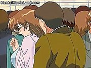 Nasty redhead sexy body anime babe gets part3