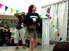 Hot peças bichano alemão em locais públicos