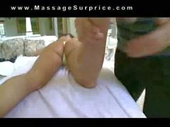Girl in thong get massage with happy ending