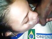 Facial na menina brasileira