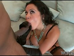 Sienna West fucks a cock like a pro