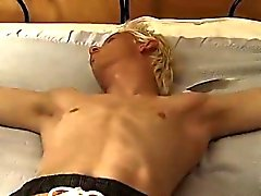 Blonde gay twinks gallery first time Tickle For Evan