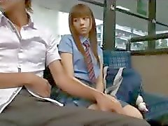 Schoolgirl On The Bus - Japanese