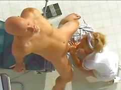 Sexy nurse fucking big ass
