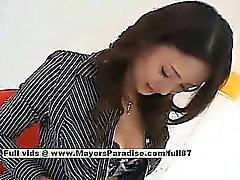 Risa Teen Chinese Mädchen gibt eine erstaunliche Blowjob zu Ihre Guy