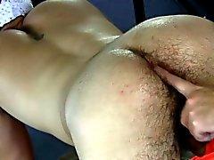 Amateur gaystraight jock has ass toyed