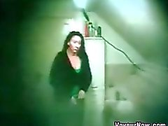 Hidden Camera Recording Thick Girlfriend