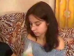 Junger Schwester von Brother nach dem Genuss Weine gefickt zu
