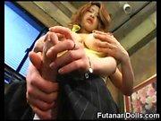 Futanari Babes Stroke et Cum!