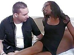 Babe påvisar her addiction till häftig sex